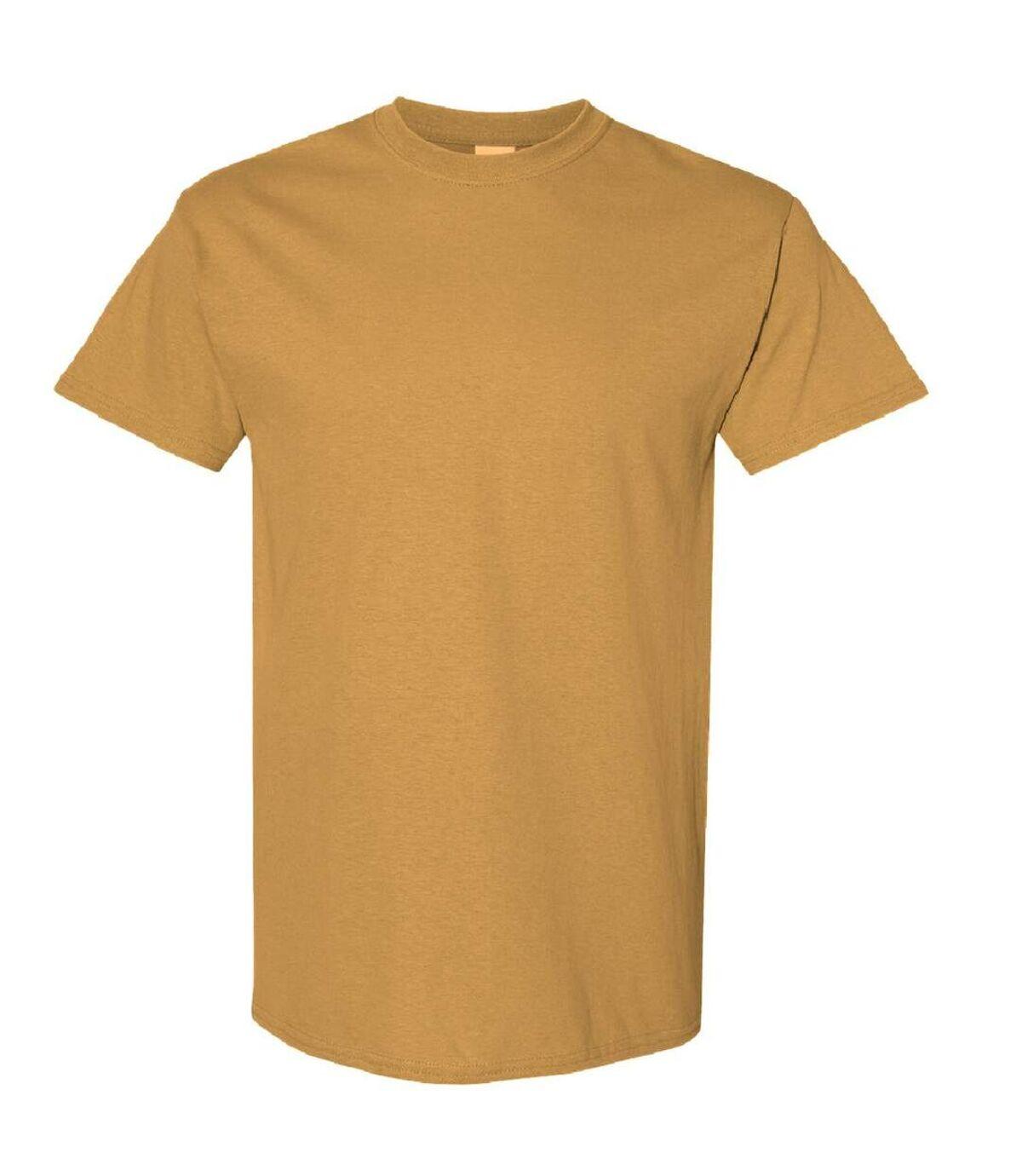 Gildan - T-shirts manches courtes - Hommes (Jaune foncé) - UTBC4807