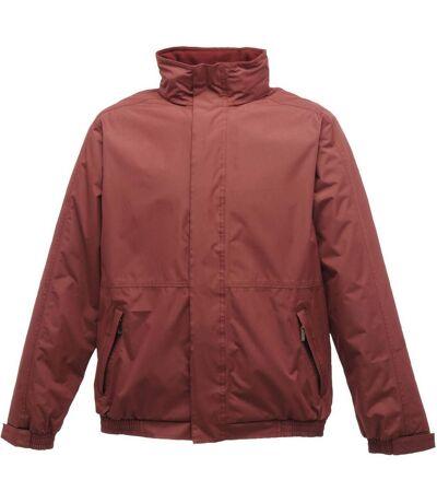 Regatta Mens Dover Waterproof Windproof Jacket (Burgundy/ Burgundy) - UTRW1185