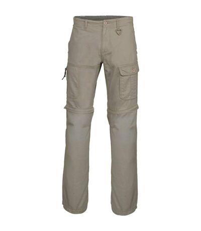 Kariban Mens Zip-off Multi-Pocket Work Trousers (Dark Beige) - UTRW4228