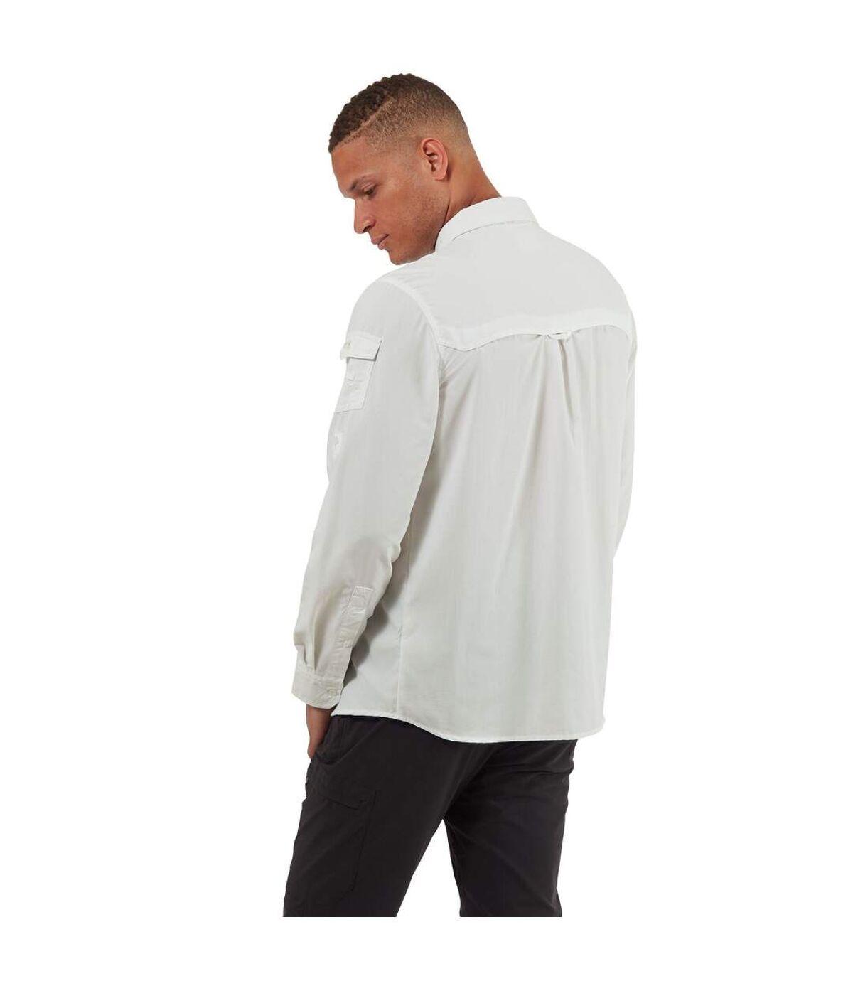 Craghoppers - Chemise manches longues ADVENTURE - Homme (Blanc) - UTCG1085