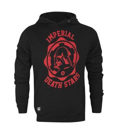 Star Wars Official Mens Imperial Death Stars College Hoodie (Black) - UTNS4790
