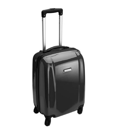Valise cabine rigide trolley 4 roulettes - 40 litres - NT5392 - noir