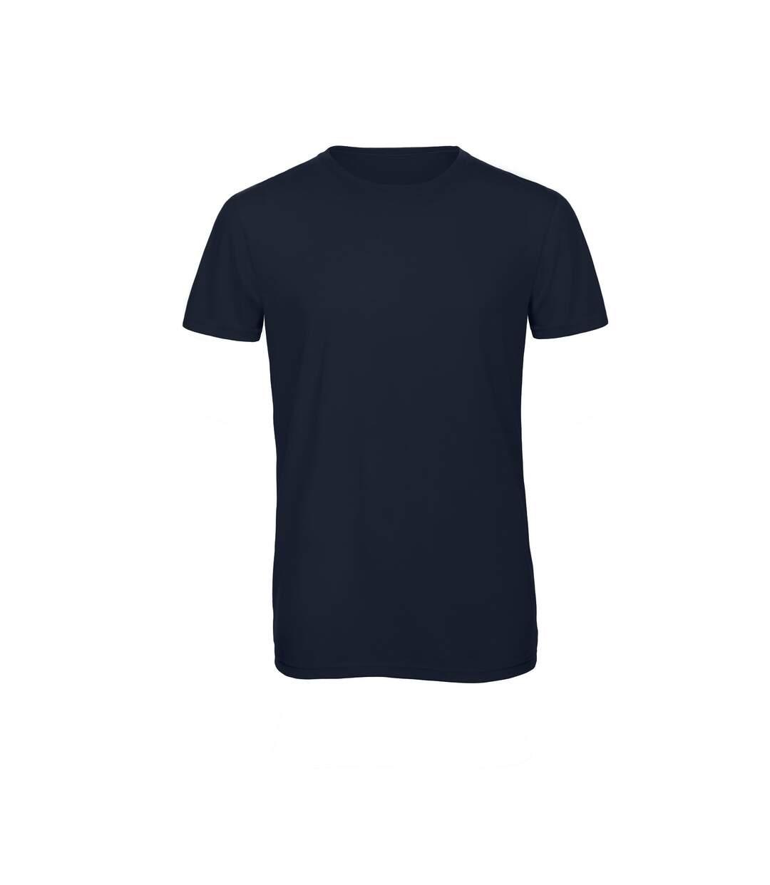 B&C Mens Favourite Short Sleeve Triblend T-Shirt (Navy Blue) - UTBC3638