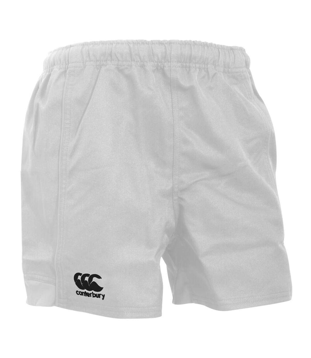Canterbury Mens Advantage Elasticated Sports Shorts (White) - UTPC2494