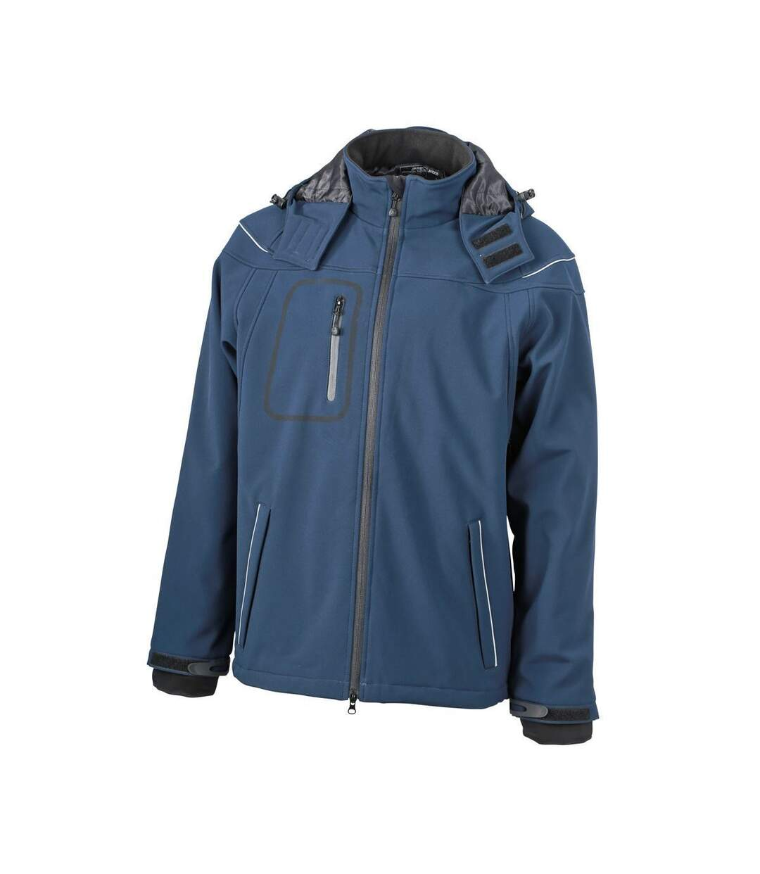 Veste softshell hiver Homme - JN1000 - Bleu marine