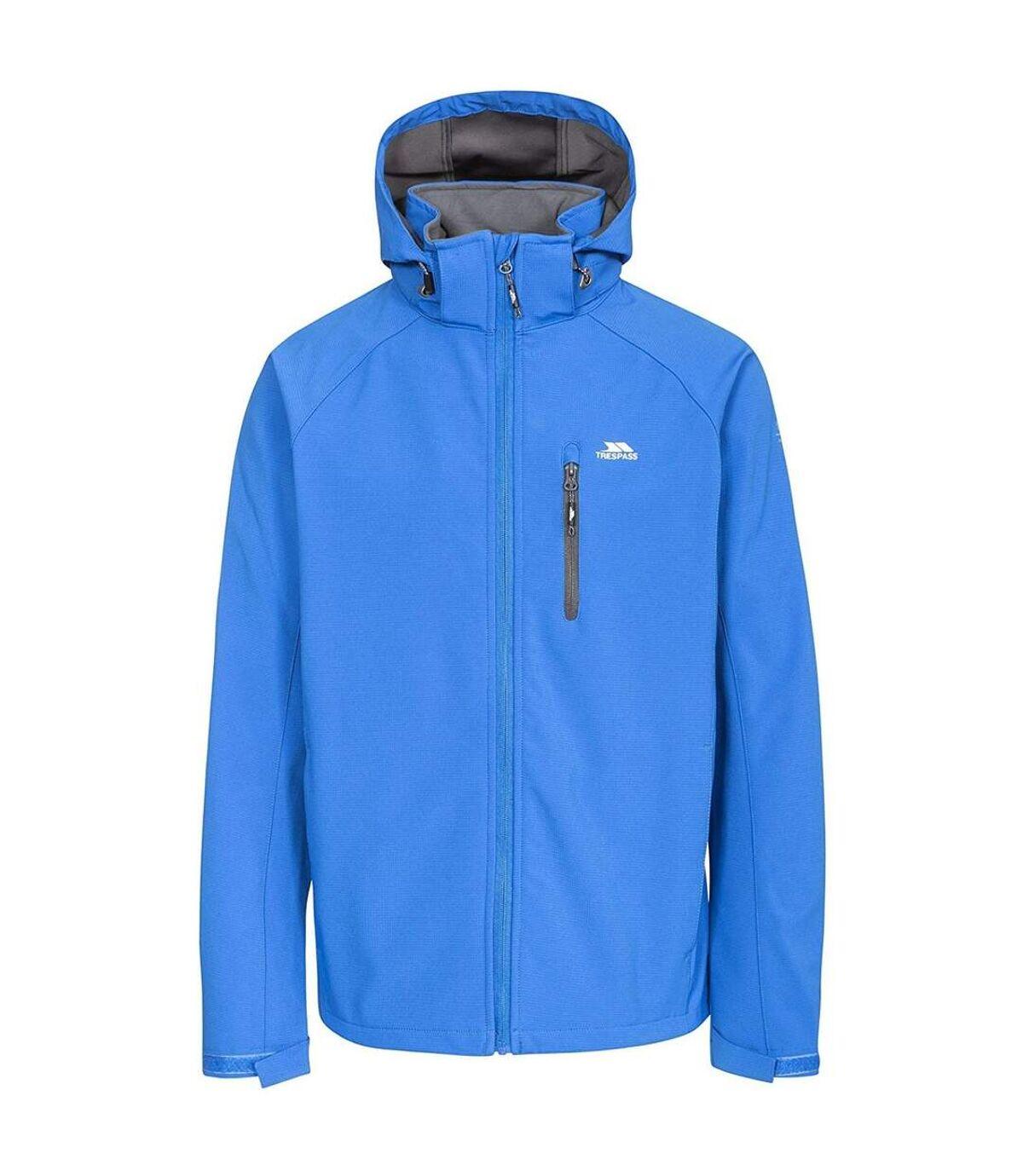 Trespass Mens Nider Waterproof Softshell Jacket (Blue) - UTTP4135