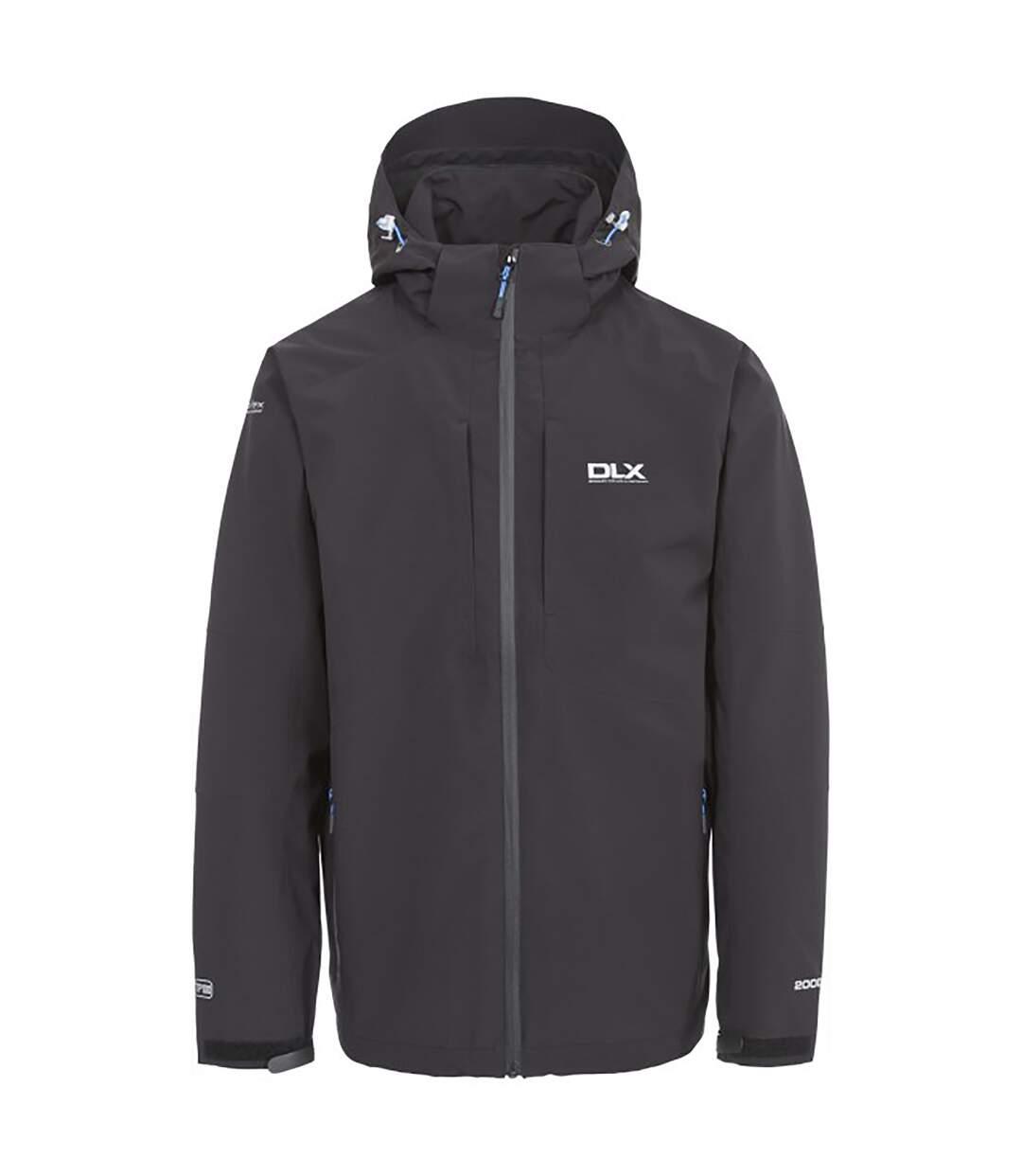 Trespass Mens Kumar Waterproof DLX Jacket (Black) - UTTP3286