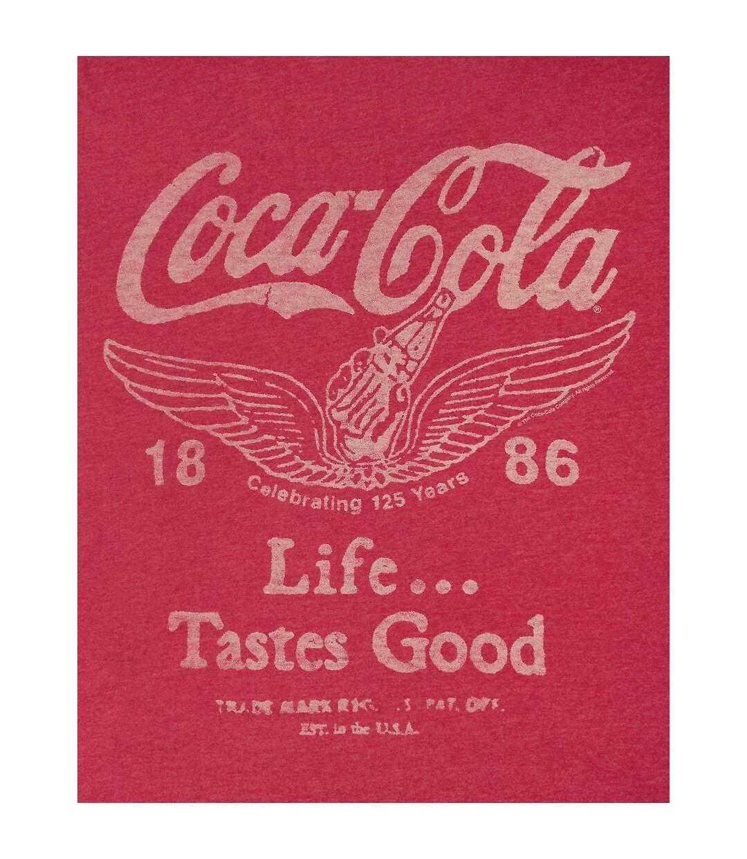 Junk Food Mens Coca Cola T-Shirt (Red) - UTNS5511