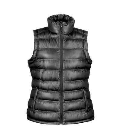 Result Ladies/Womens Ice Bird Padded Bodywarmer / Gilet Jacket (Black) - UTBC2725