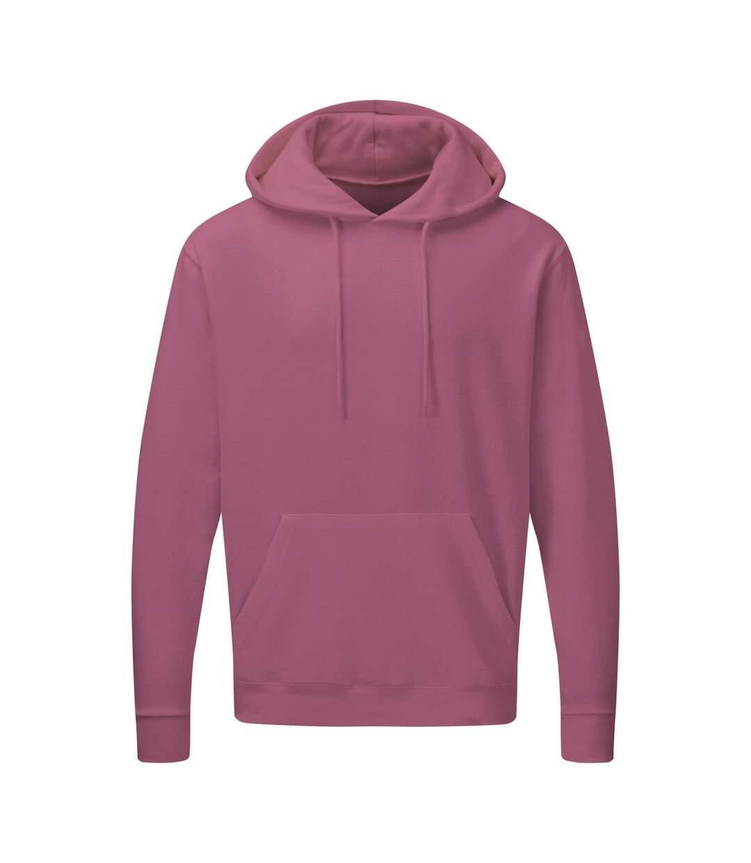 SG Mens Plain Hooded Sweatshirt Top / Hoodie (Cantaloupe) - UTBC1072