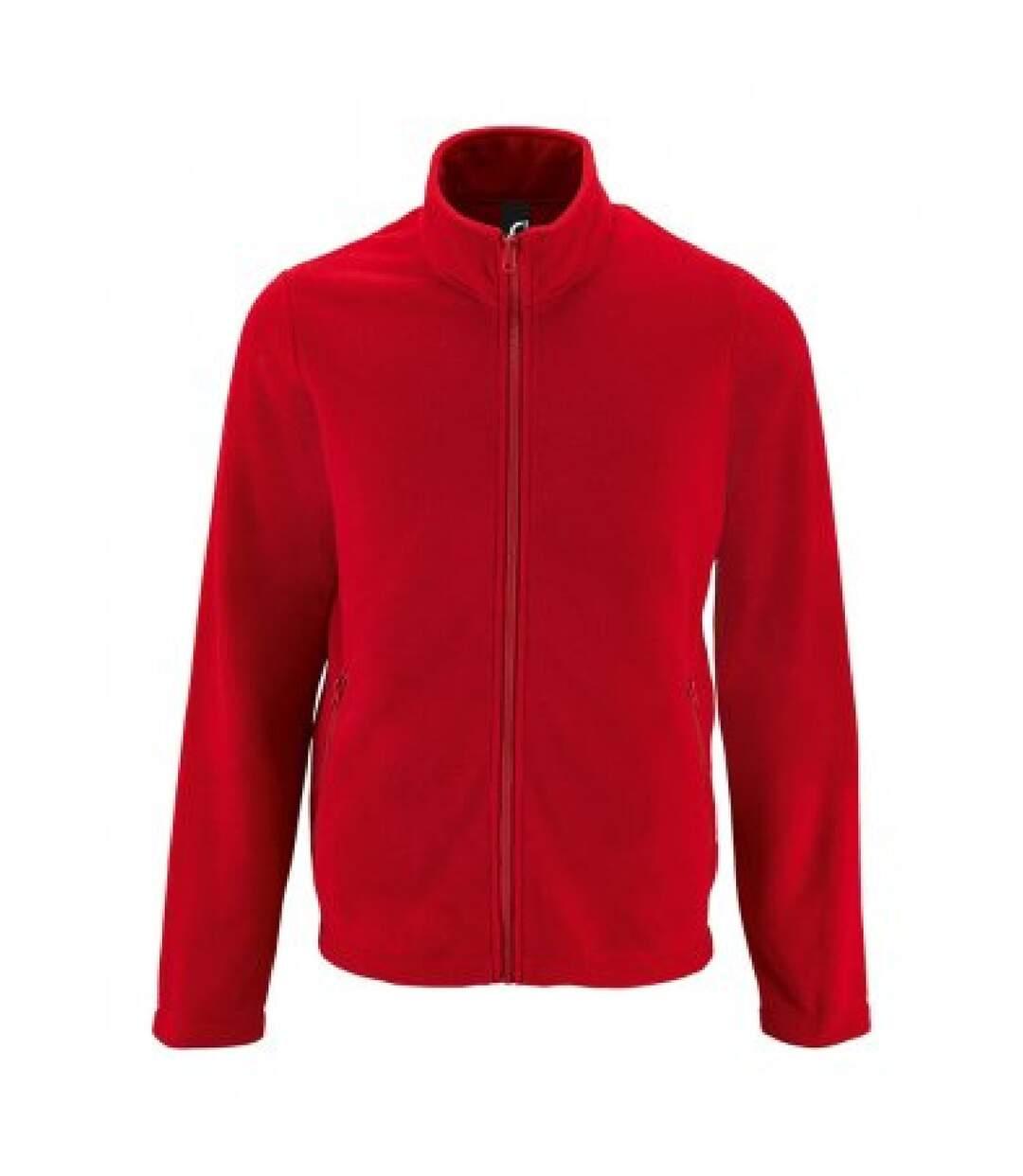 SOLS Mens Norman Fleece Jacket (Red) - UTPC3210