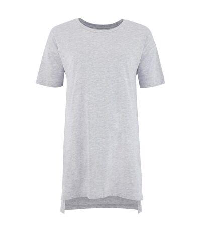Comfy Co Womens/Ladies Oversized Sleepy T Short Sleeve Pyjama T-Shirt (White) - UTRW5319