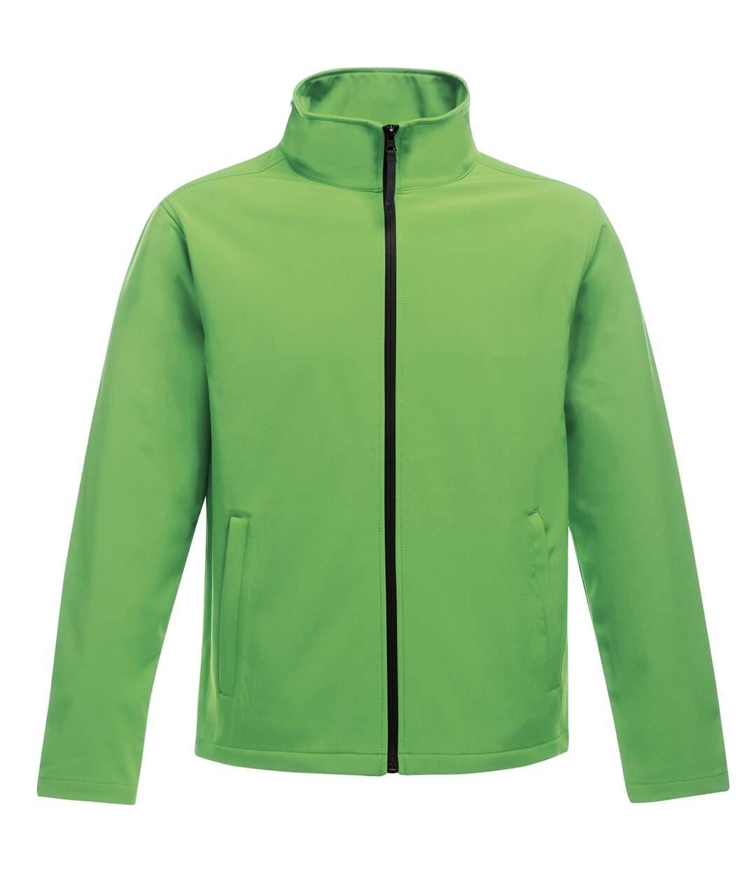 Regatta Standout Mens Ablaze Printable Softshell Jacket (Extreme Green/Black) - UTRW6353