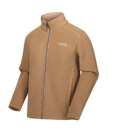 Regatta Mens Garrian Full Zip Jacket (Dark Khaki/Oat Brown) - UTRG3647