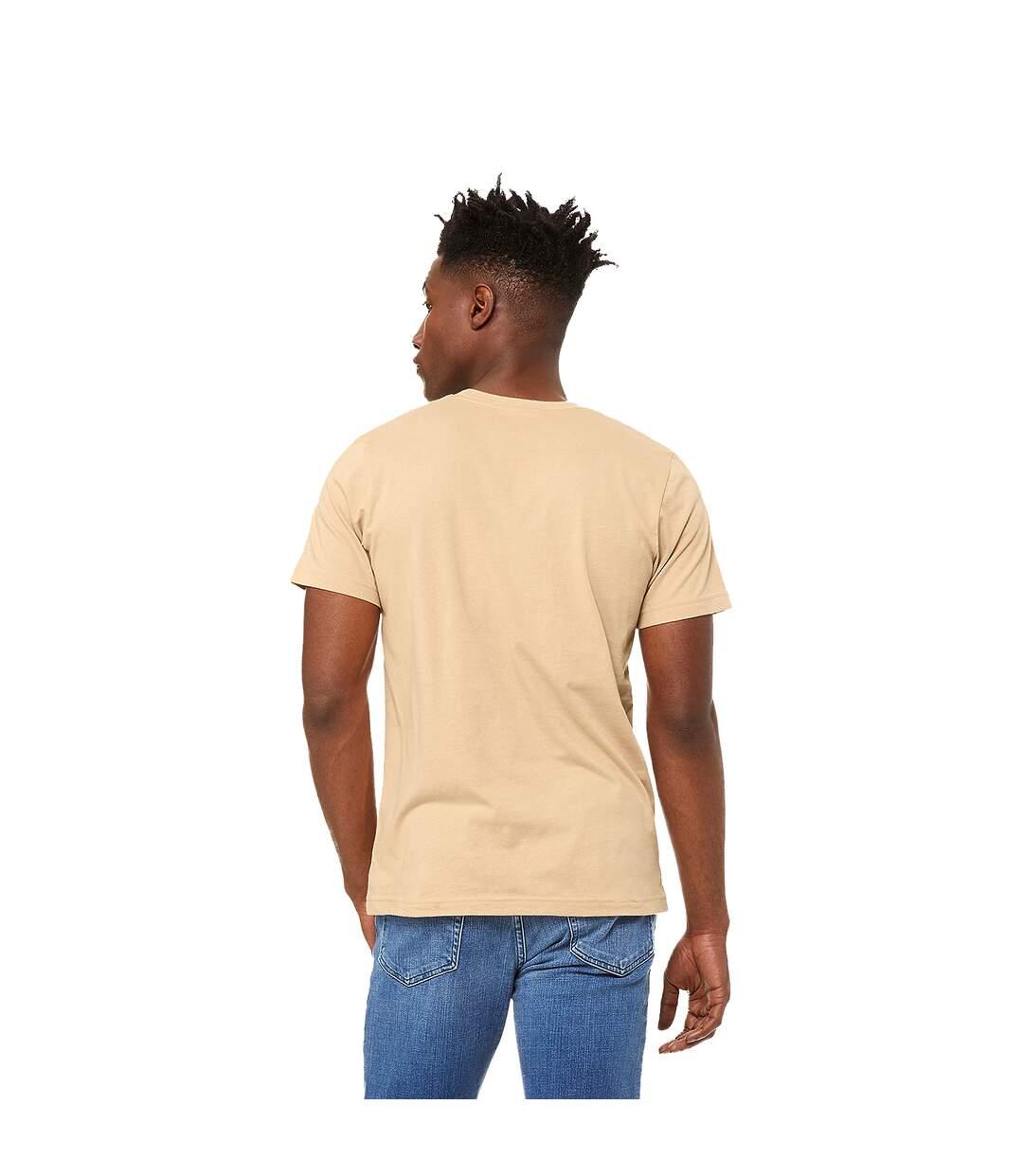 Canvas Unisex Jersey Crew Neck T-Shirt / Mens Short Sleeve T-Shirt (White) - UTBC163