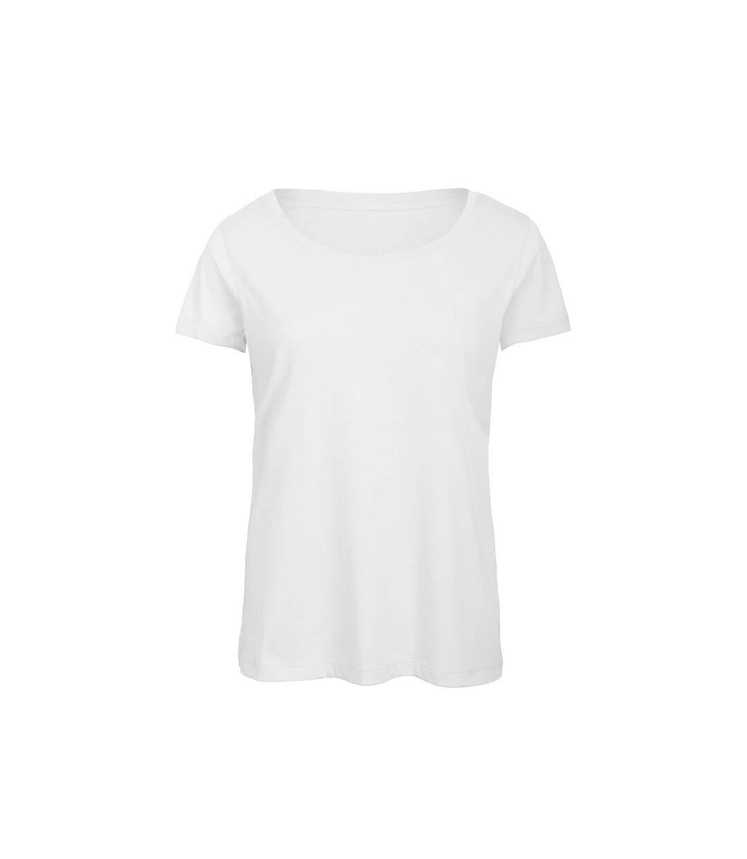 B&C - T-Shirt - Femme (Blanc) - UTBC3644