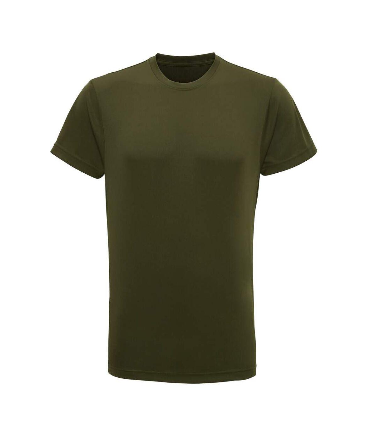 Tri Dri Mens Short Sleeve Lightweight Fitness T-Shirt (Olive) - UTRW4798