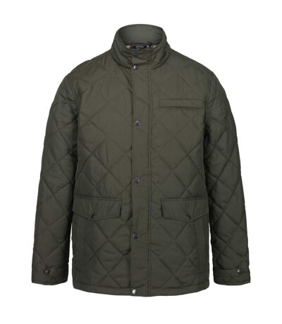 Regatta Mens Locke Quilted Insulated Jacket (Dark Khaki) - UTRG5327
