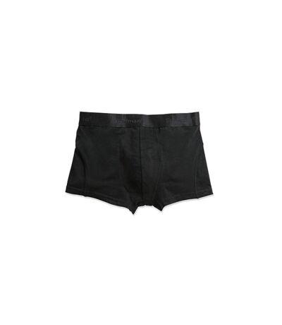 Stedman Mens Dexter Boxer Shorts (2 Pack) (Black) - UTAB388