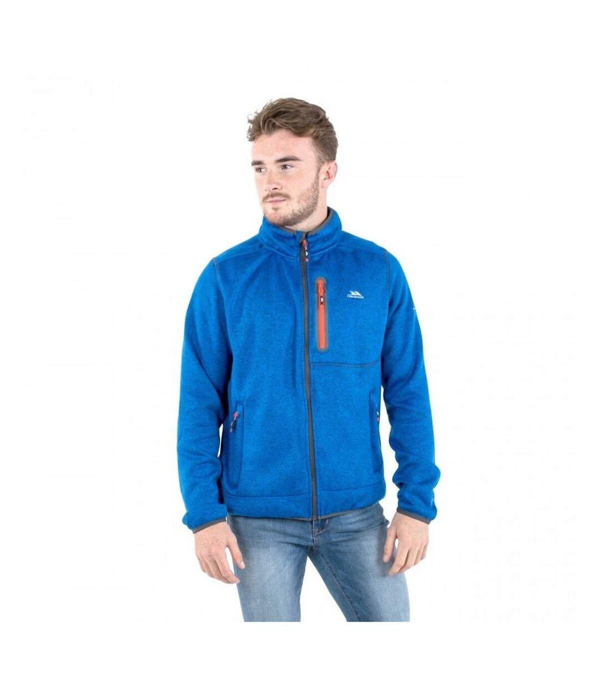 Trespass Mens Bingham Fleece Jacket (Blue Marl) - UTTP4287