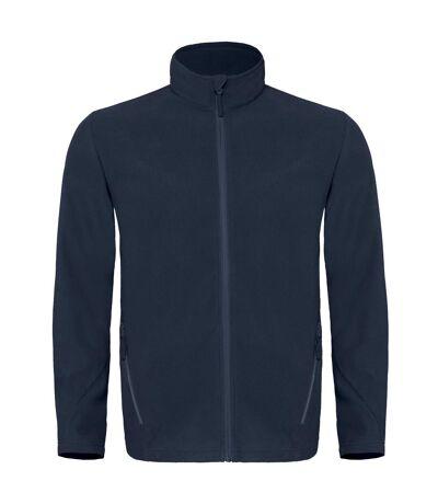 B&C Mens Coolstar Ultra Light Full Zip Fleece Top (Navy) - UTRW3033