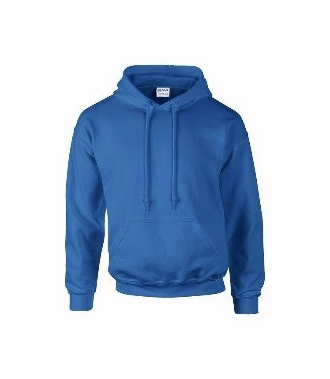 Gildan Heavyweight DryBlend Adult Unisex Hooded Sweatshirt Top / Hoodie (13 Colours) (Cardinal) - UTBC461