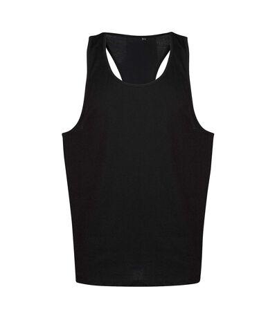 Tanx Mens Vest Sleeveless Vest Top / Muscle Vest (Heather Grey) - UTRW2869