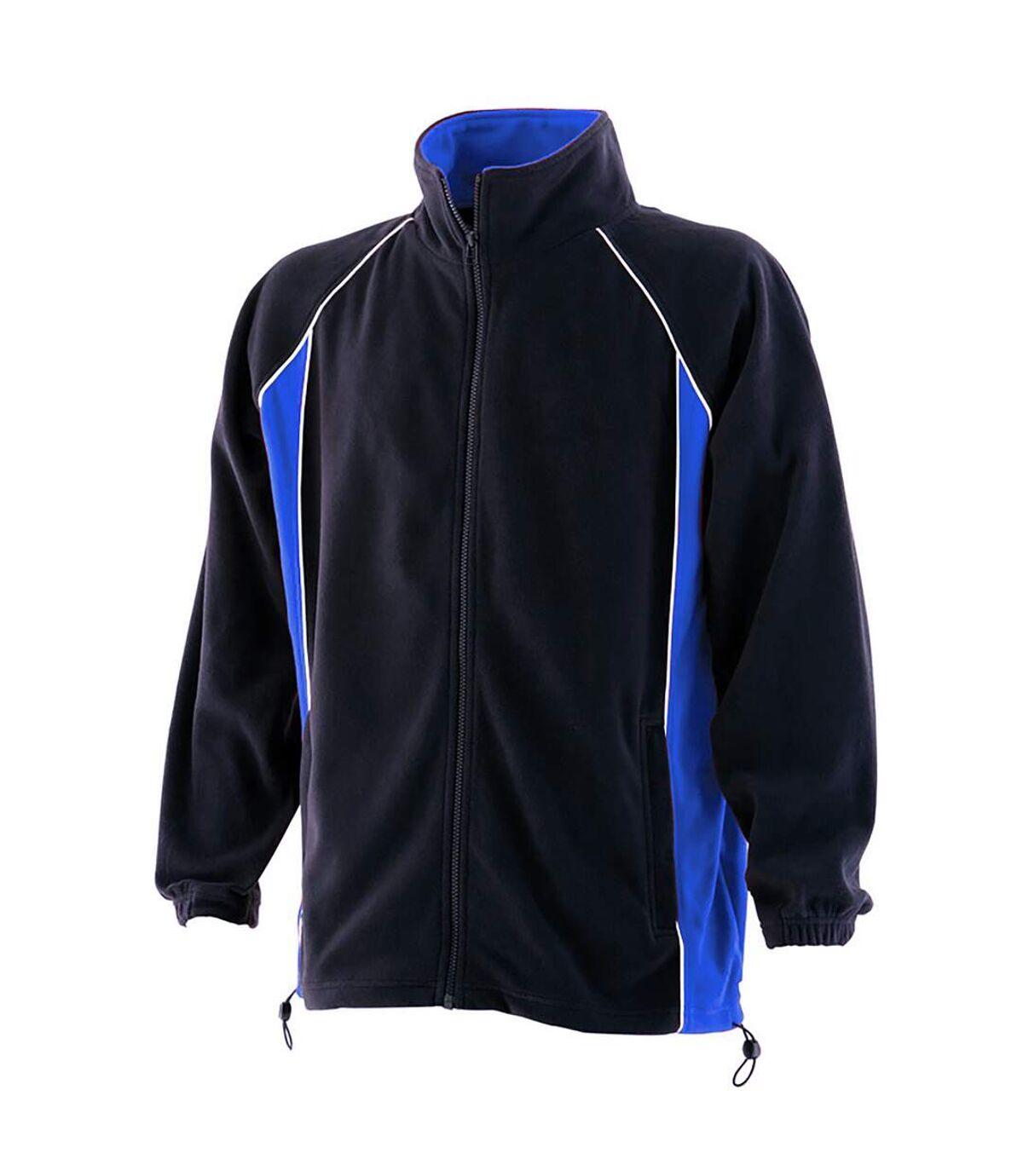 Finden & Hales - Veste polaire - Homme (Bleu marine/Bleu roi/Blanc) - UTRW434