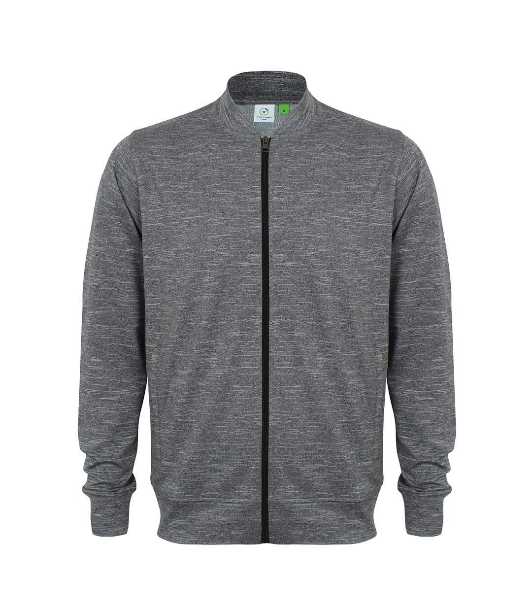 Tombo Mens Full Zip Track Top (Grey Marl) - UTRW5468