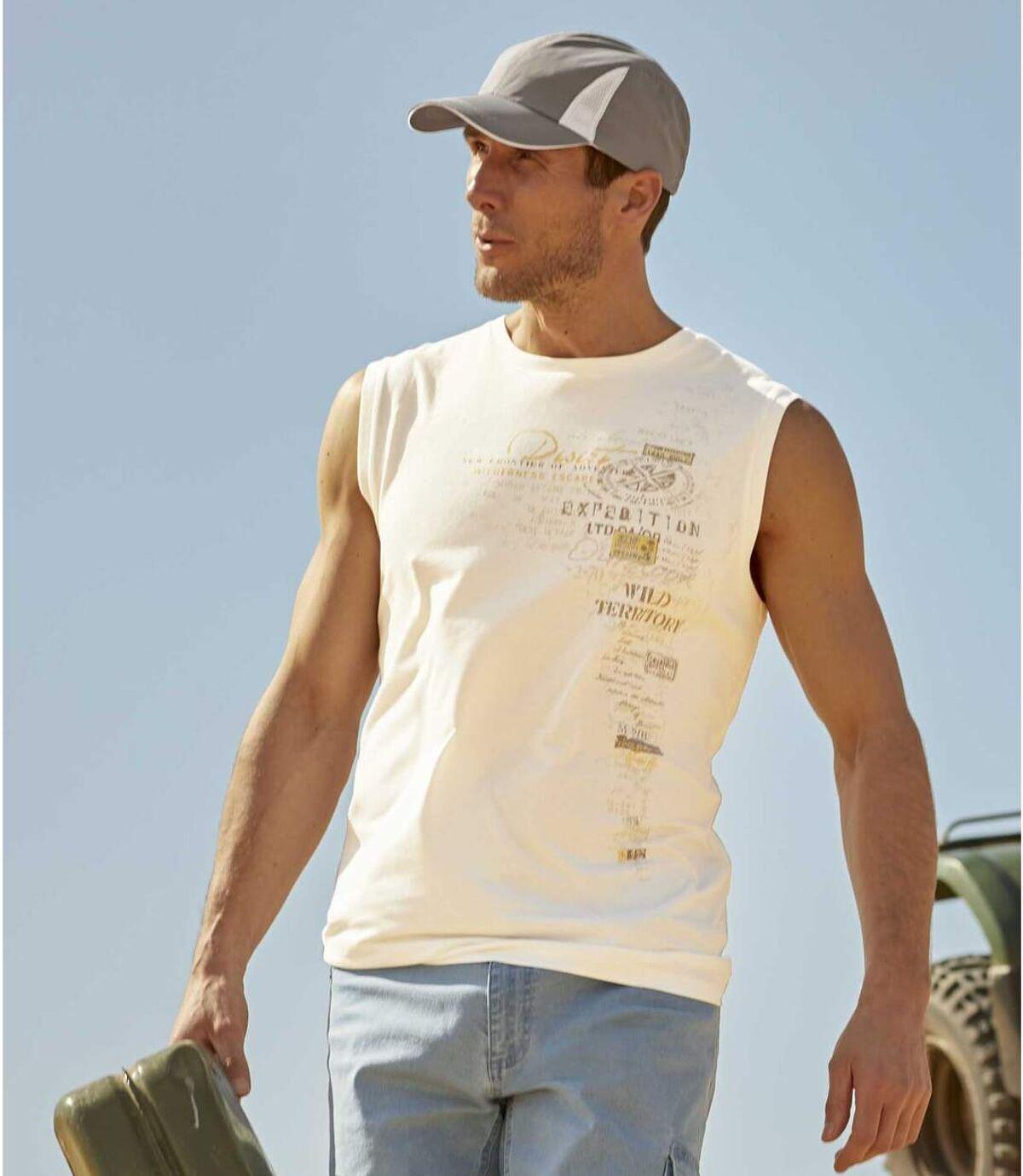 Set van 2 mouwloze T-shirts Wild Territory  Atlas For Men