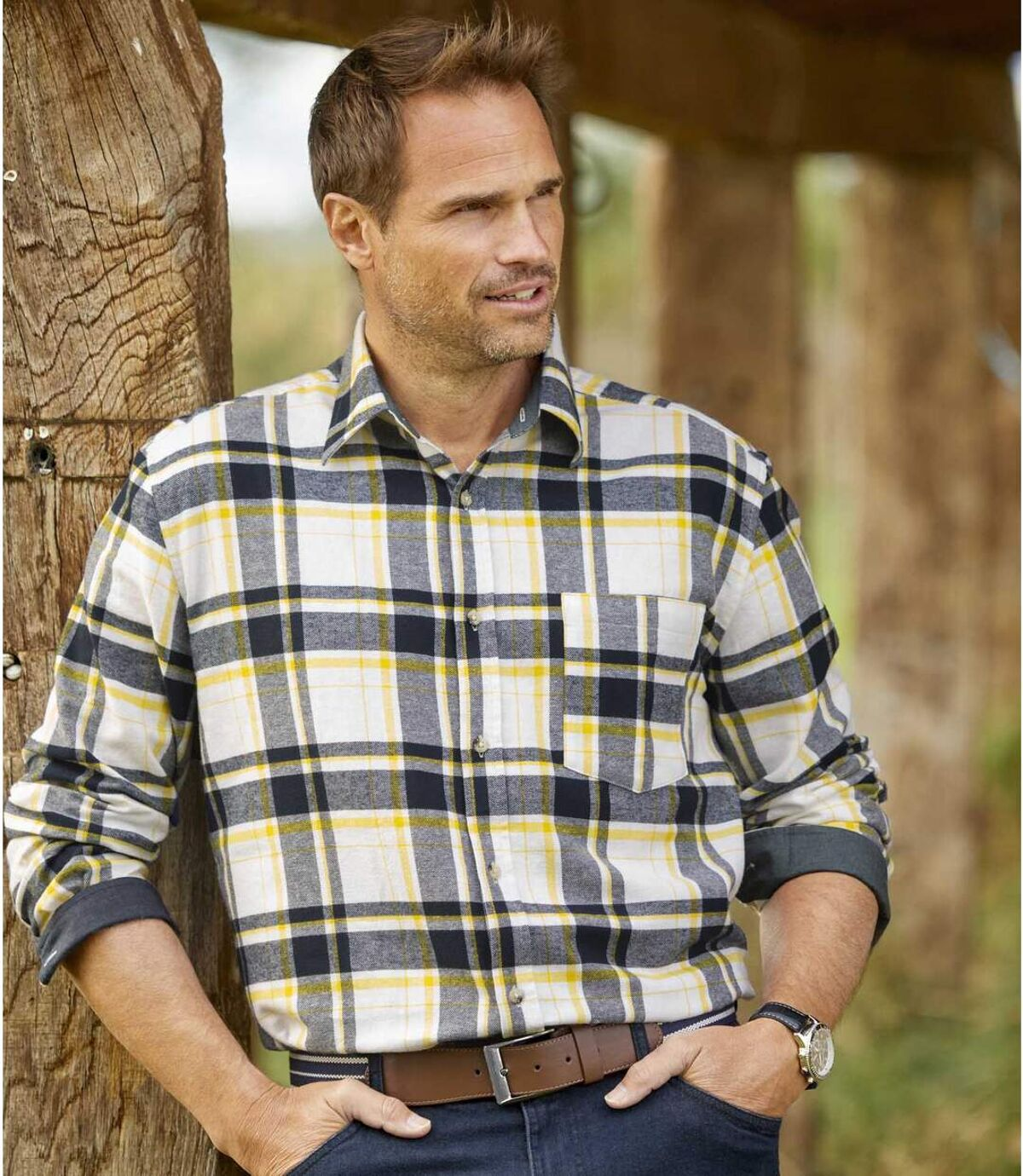 Flanellen overhemd Canada Exp. Atlas For Men