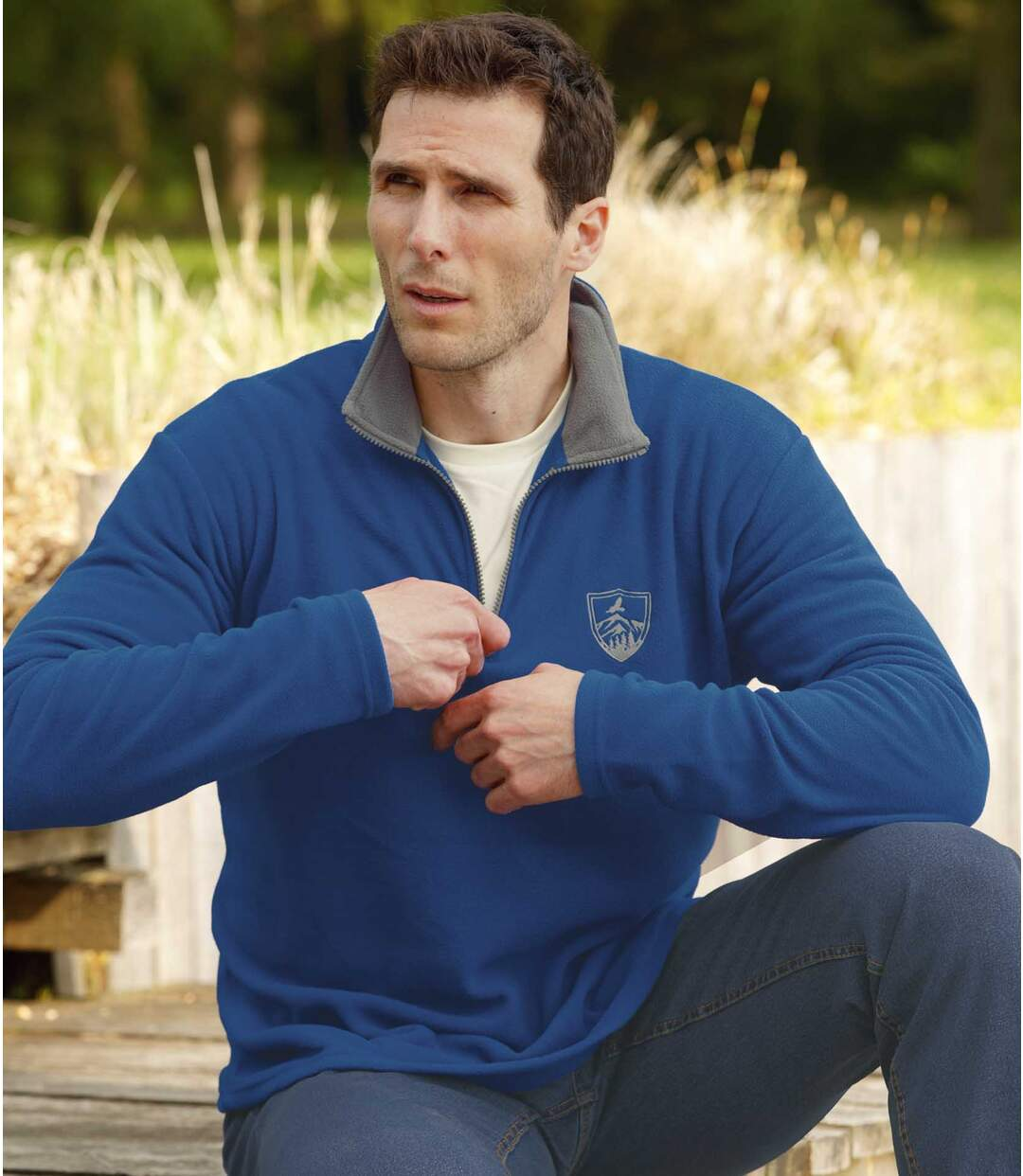 Set van 2 microfleece sweaters