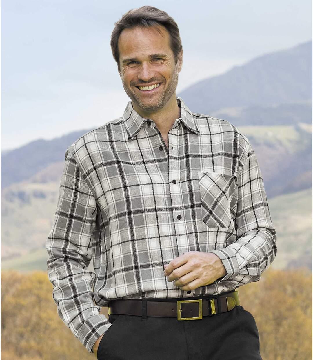 Flanelowa koszula w kratę Wintertime