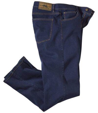 Men's Stretch Blue Denim Jeans