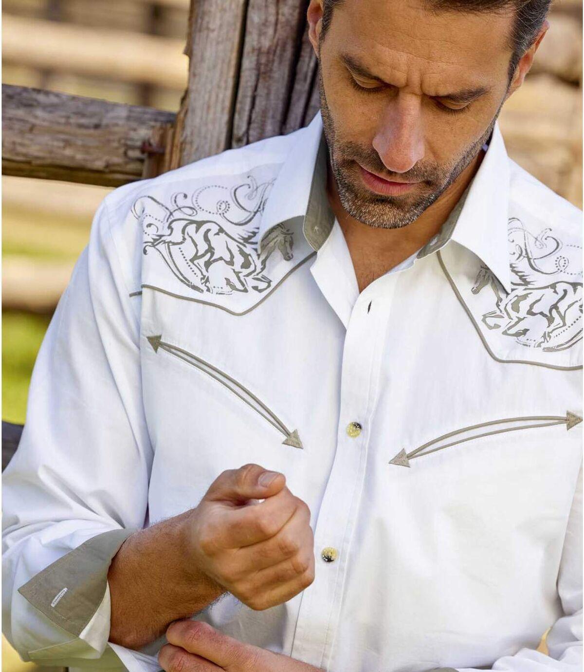 Overhemd Western Kansas  Atlas For Men