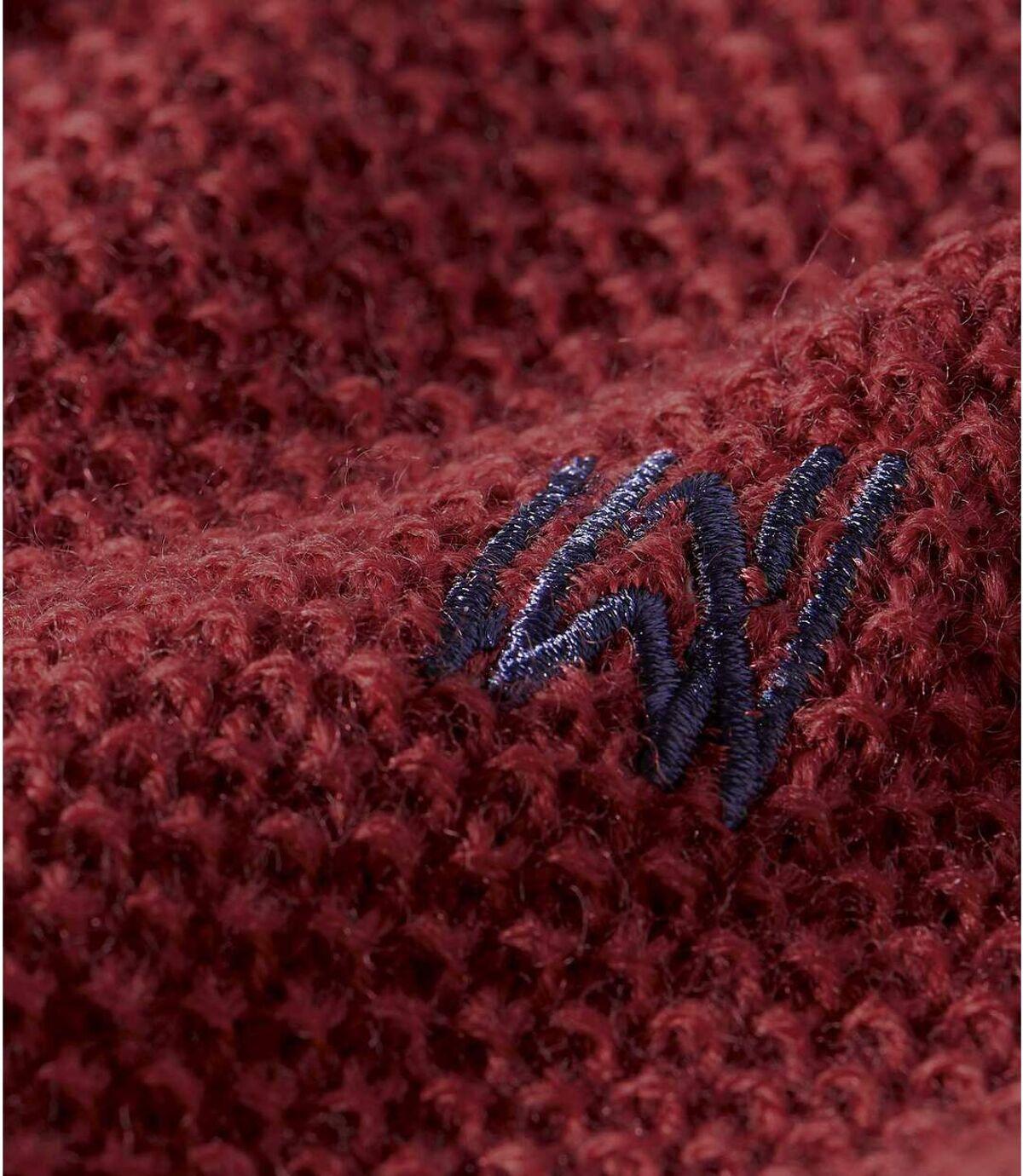 Sportovní pulovr zmerino vlny snízkým stojáčkem Atlas For Men