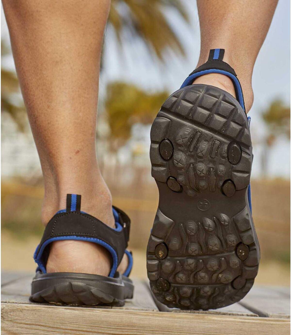 Men's Black All-Terrain Sandals Atlas For Men