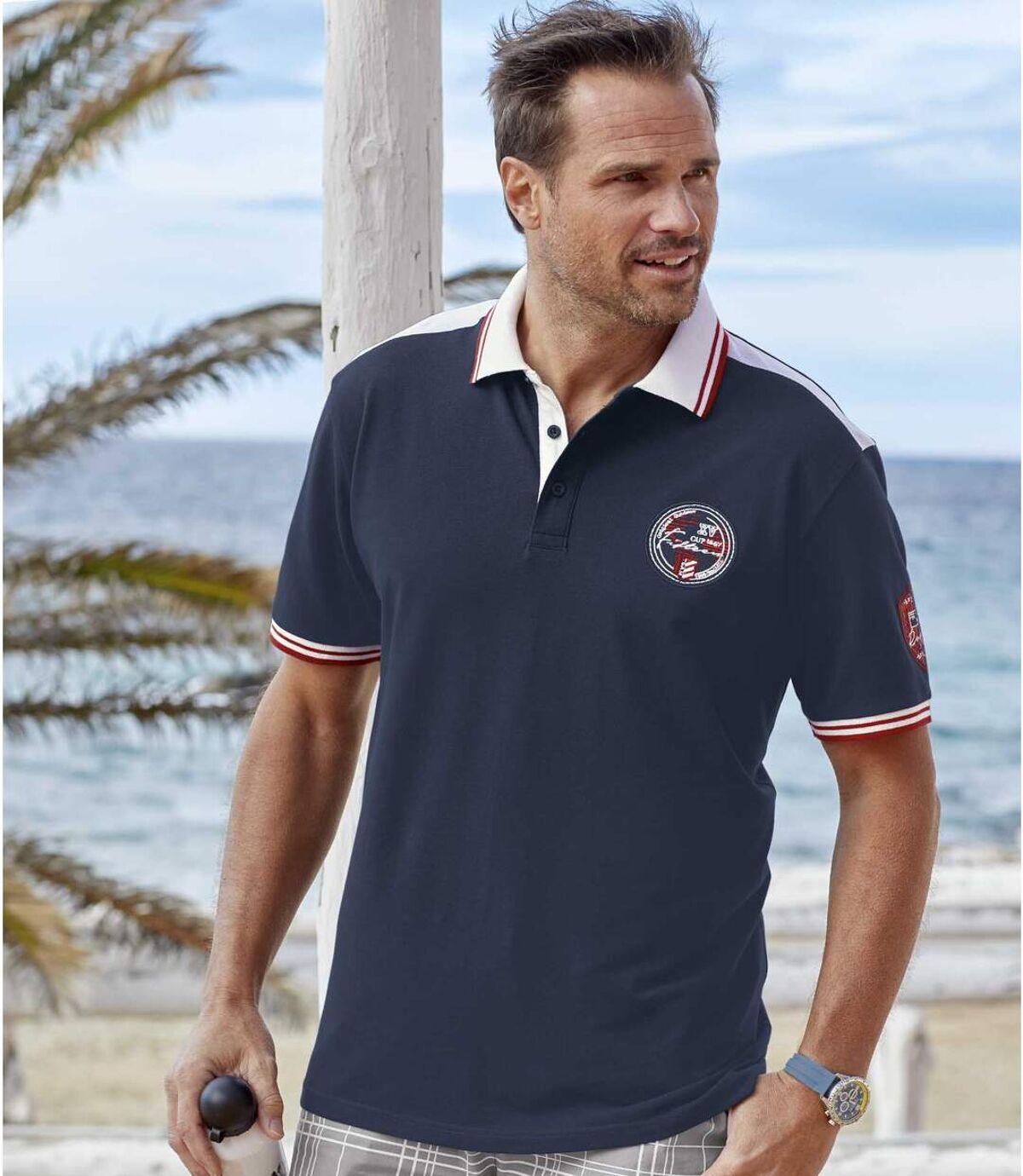 Men's Navy Polo Shirt Atlas For Men