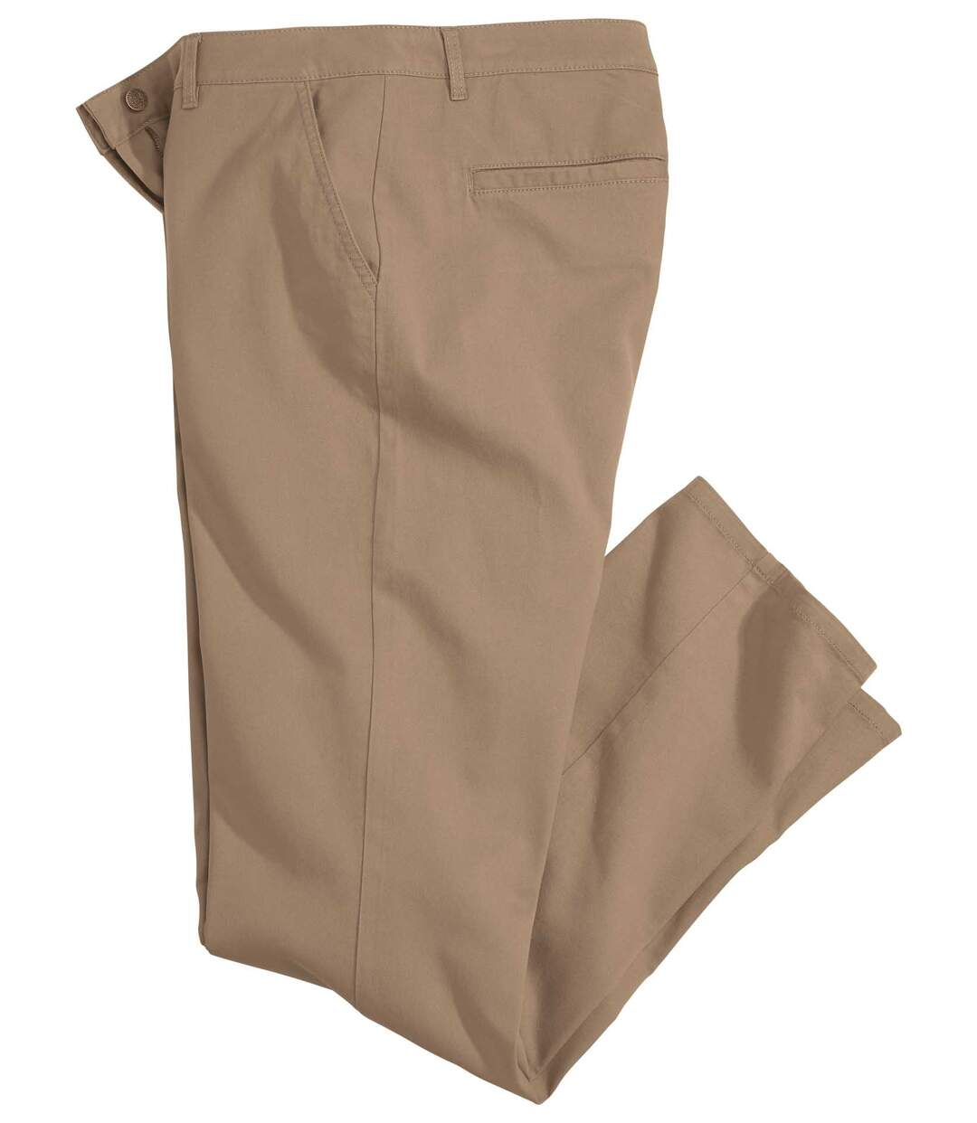 Beige stretch chino
