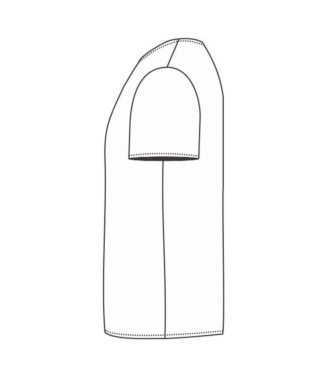 B&C Mens Exact V-Neck Short Sleeve T-Shirt (White) - UTBC1289