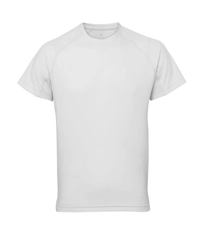 Tri Dri Mens Panelled Short Sleeve T-Shirt (White) - UTRW4799