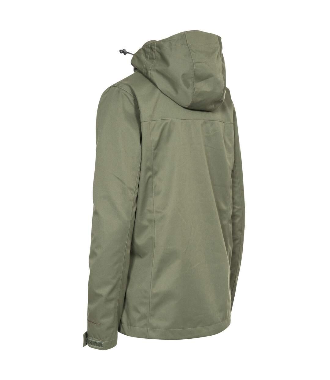 Trespass Womens/Ladies Emeson DLX Hooded Waterproof Jacket (Moss) - UTTP4189
