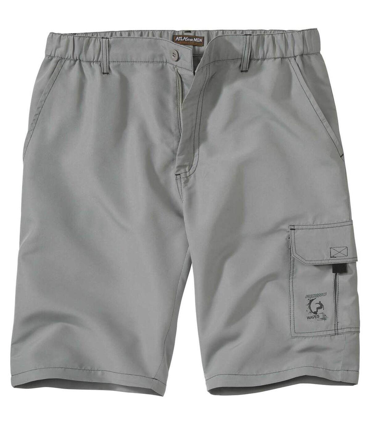 Men's Grey Cargo Shorts Atlas For Men