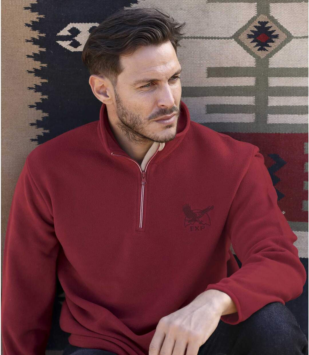 3er-Pack Pullover Eagle aus Microfleece