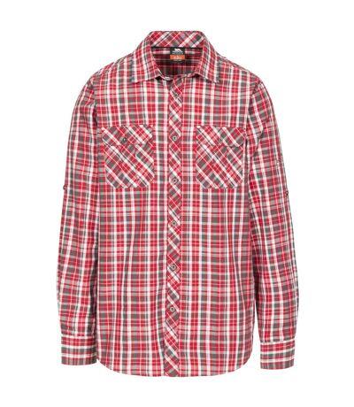 Trespass Mens Collector Check Shirt (Red Check) - UTTP4291