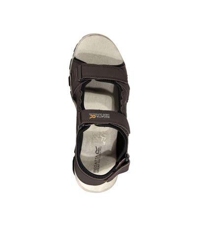 Regatta Mens Holcombe Vent Sandals (Peat/Parchment) - UTRG4090