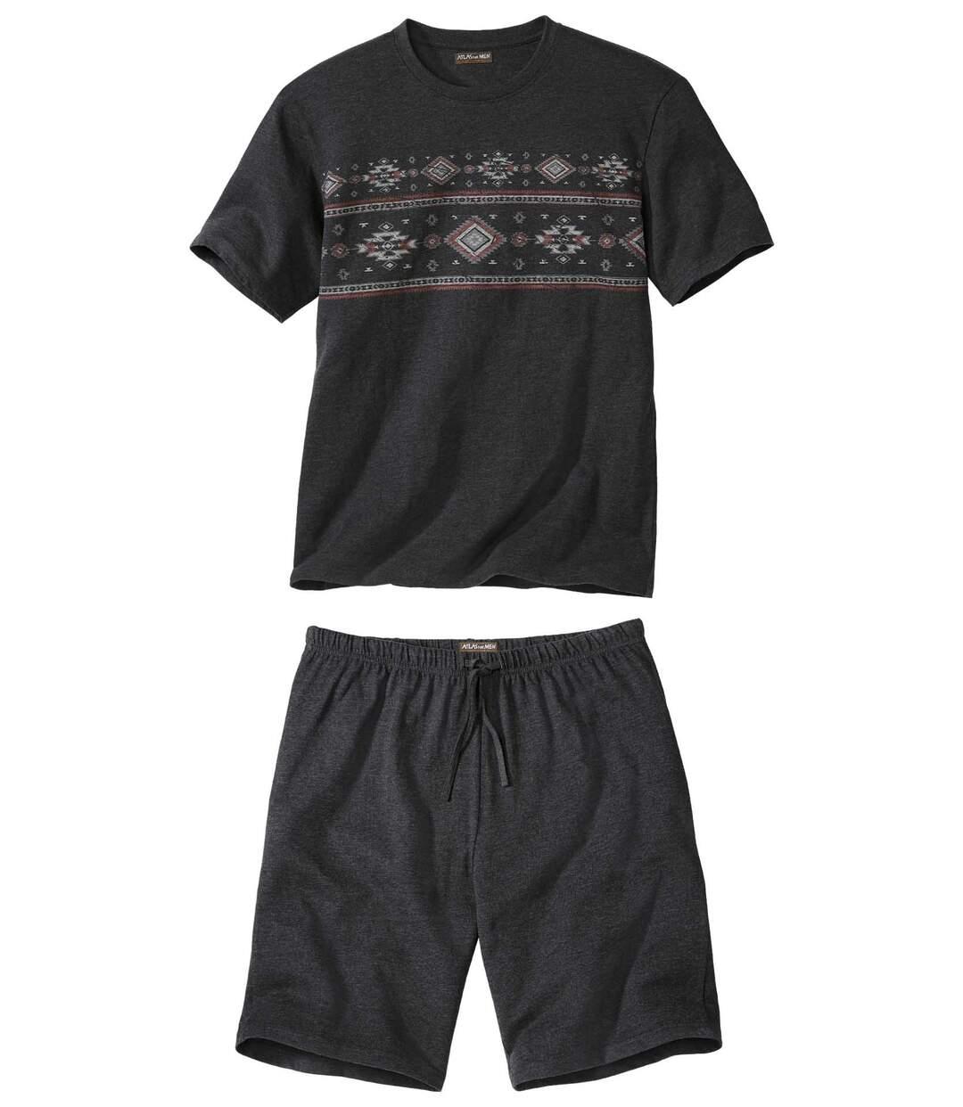 Krátké stylové pyžamo