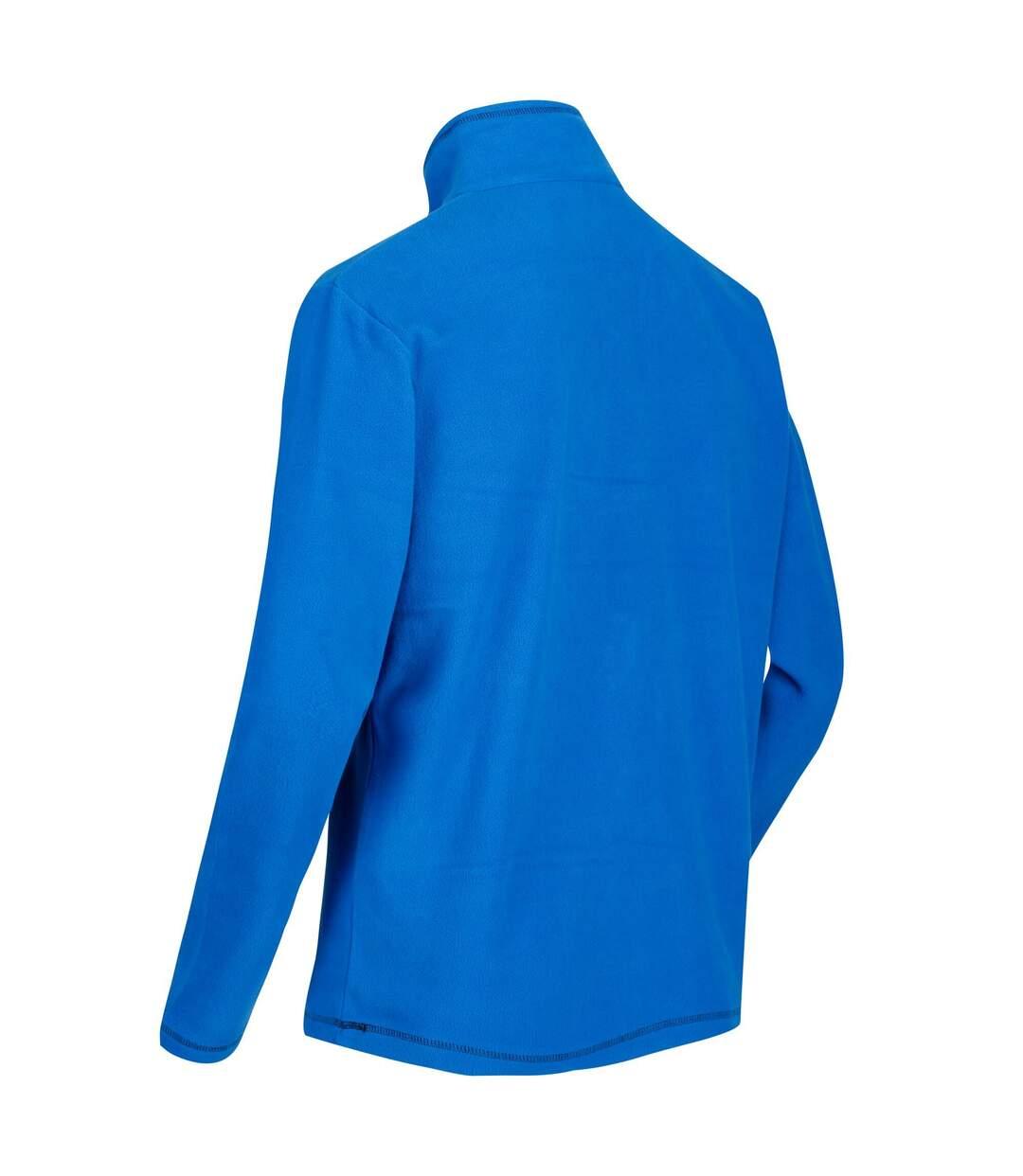 Regatta Great Outdoors Mens Thompson Half Zip Fleece Top (Oxford Blue) - UTRG1390