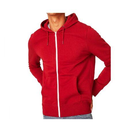 Sweat Zippé rouge homme C&A