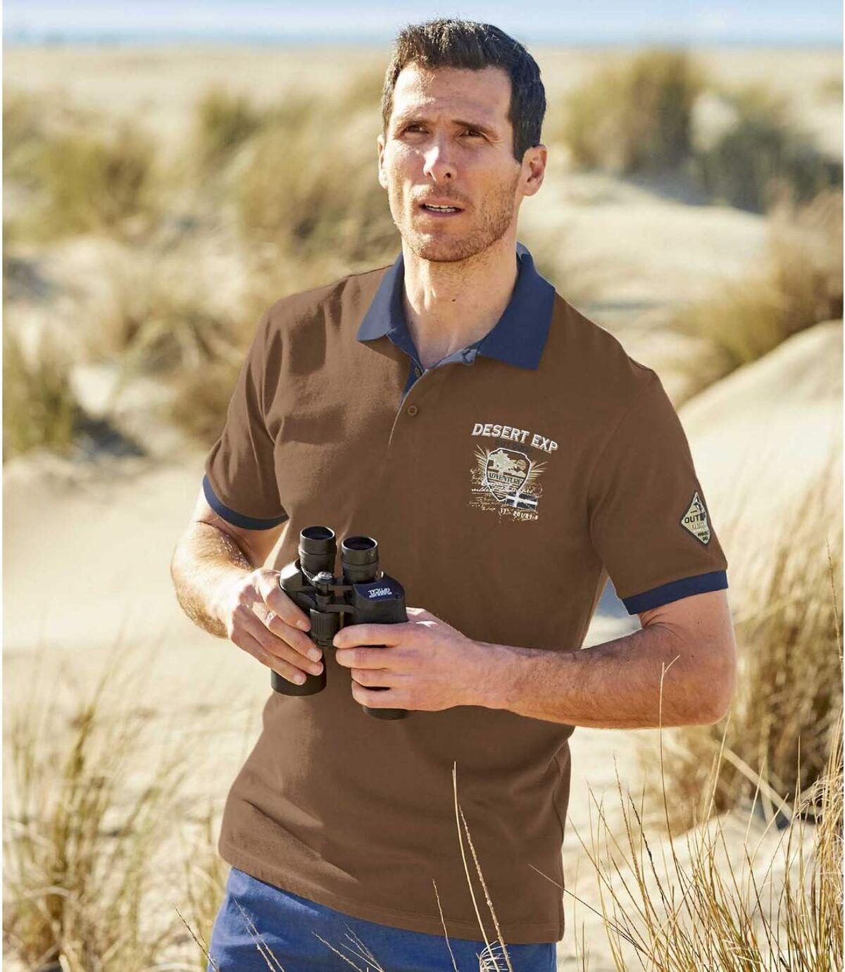 Zestaw 2 polo Outdoor Desert Atlas For Men
